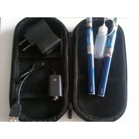 eGo Double E-Cig CE5 1100mah Starter Kit - BLUE