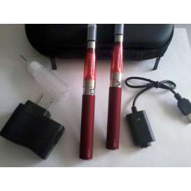eGo Double E-Cig CE5 1100mah Starter Kit - RED
