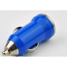Car Charger / USB / Cigarette Lighter - BLUE