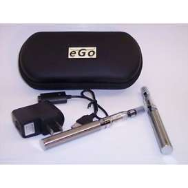 eGo Double E-Cig CE5 1100mah Starter Kit - STAINLESS STEEL
