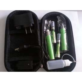 eGo Double E-Cig CE5 1100mah Starter Kit - GREEN