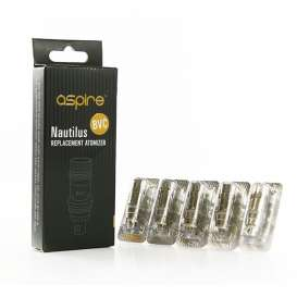 5-PACK of Aspire BVC Coils for Nautilus and Nautilus Mini